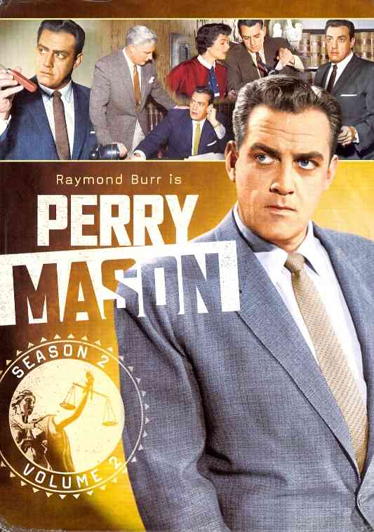 PERRY MASON:SECOND SEASON VOL 2 BY PERRY MASON (DVD)